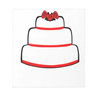 Wedding Cake Notepad