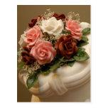 Wedding cake post card