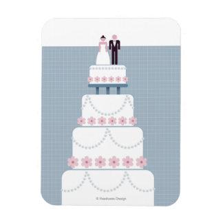 Wedding Cake Rectangular Photo Magnet