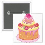 Wedding Cake Three Tiers Pin