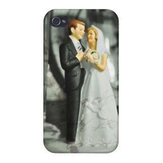 Wedding Cake Topper IPhone 4 Case