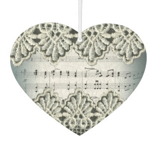 Wedding Car March Music with Lace Trim Effect