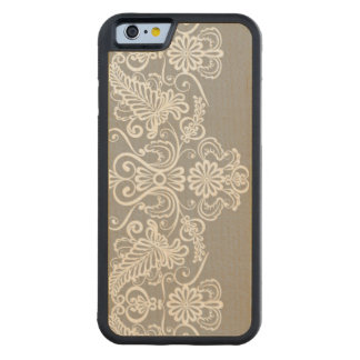 Wedding Card Carved Maple iPhone 6 Bumper Case