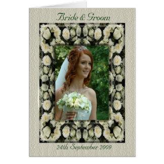 Wedding Card:Template Greeting Card