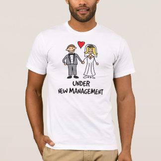 Wedding Cartoon - Under New Management T-Shirt