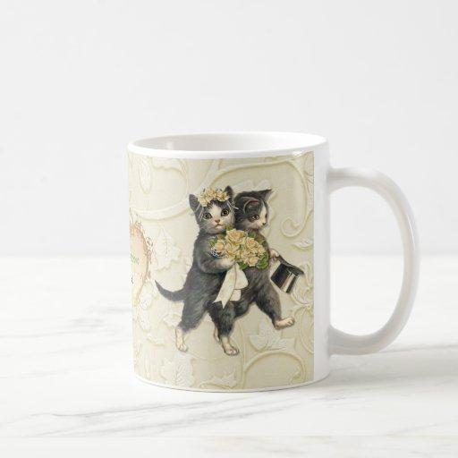 Wedding Cats Mugs