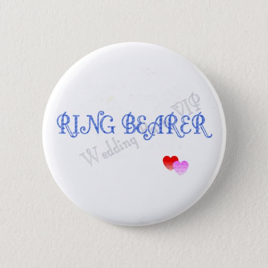 WEDDING CELEBRATION 6 CM ROUND BADGE