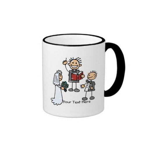 Wedding Ceremony (customizable) Coffee Mugs