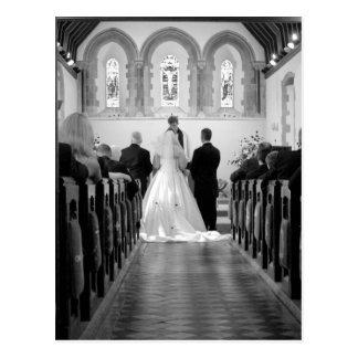 Wedding Ceremony Postcard