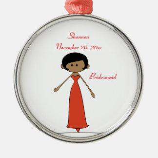 Wedding Characters Bridesmaid Ornament (A1)