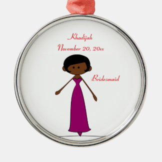 Wedding Characters Bridesmaid Ornament (A2)