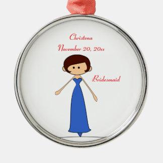 Wedding Characters Bridesmaid Ornament (C2)