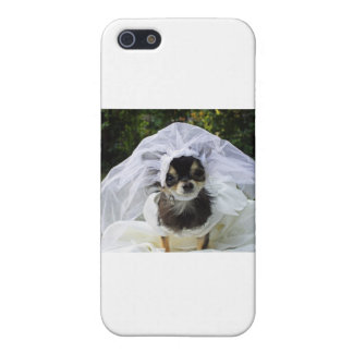 Wedding Chihuahua Bride iPhone 5 Cover