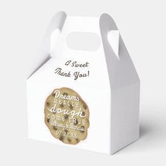 Wedding Chocolate Chip Cookie Treats Dreams Dough Party Favour Boxes
