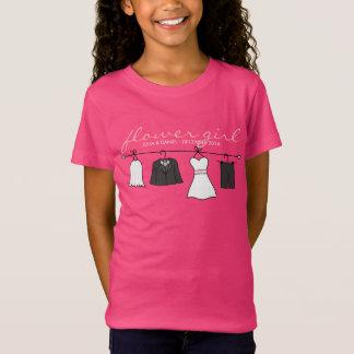 Wedding Clothes (Bride & Groom) Flower Girl * Pink Tees