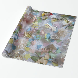 Wedding Collage Wrapping Paper