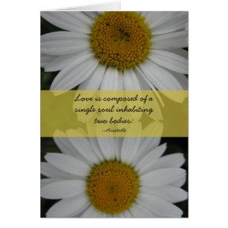 Wedding Congratulations--daisies Greeting Card