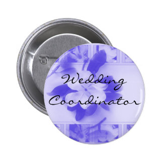Wedding Coordinator 6 Cm Round Badge
