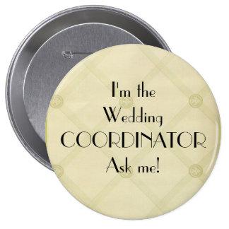 Wedding Coordinator-Planner 10 Cm Round Badge