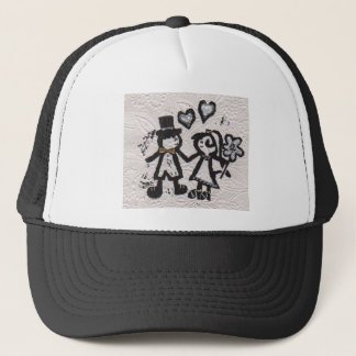 Wedding Couple 1 Trucker Hat