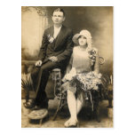 WEDDING COUPLE #56 POST CARD