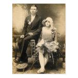 WEDDING COUPLE #56 POSTCARD