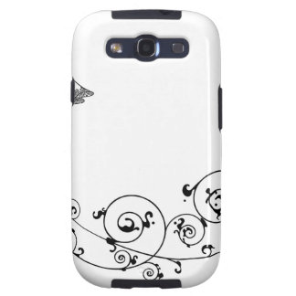 Wedding couple bride and groom silhouette samsung galaxy s3 cases