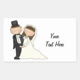 Wedding Couple (customizable) Stickers
