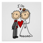 Wedding Couple I Do T-shirts and Gifts Print