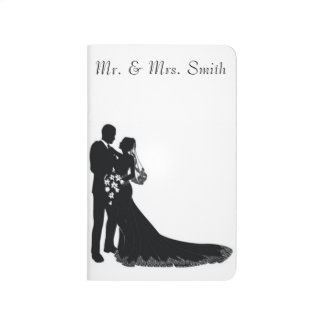 Wedding Couple Pocket Journal