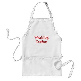 Wedding Crasher Adult Apron