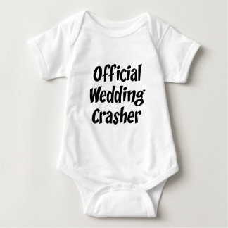 Wedding Crasher Baby Bodysuit