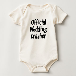 Wedding Crasher Baby Creeper