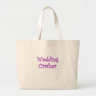 Wedding Crasher Tote Bags