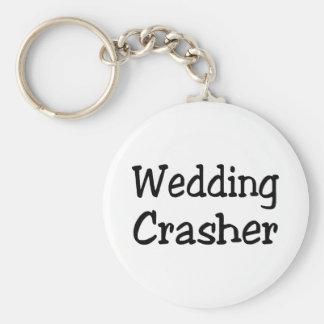 Wedding Crasher Basic Round Button Key Ring