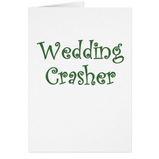 Wedding Crasher Cards