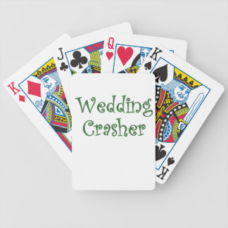 Wedding Crasher Poker Cards