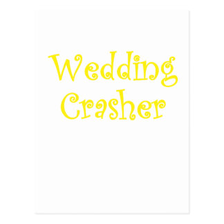 Wedding Crasher Postcard