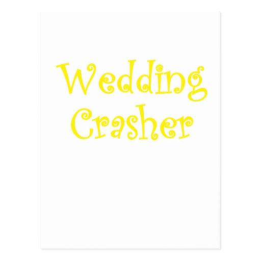 Wedding Crasher Postcards