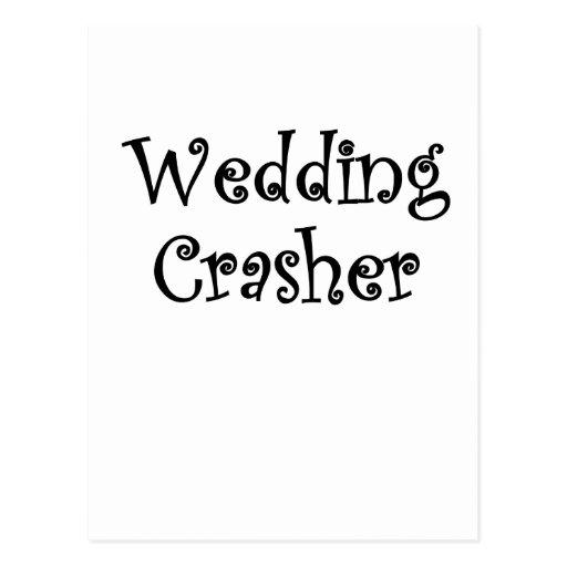 Wedding Crasher Postcard
