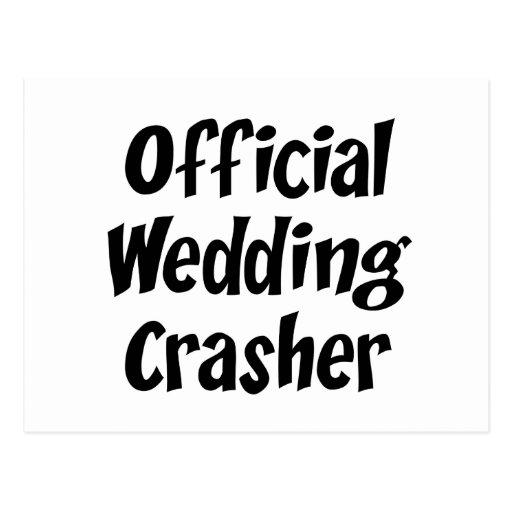 Wedding Crasher Post Cards