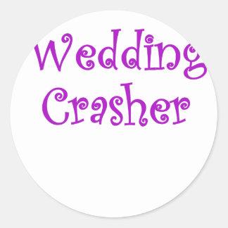 Wedding Crasher Stickers