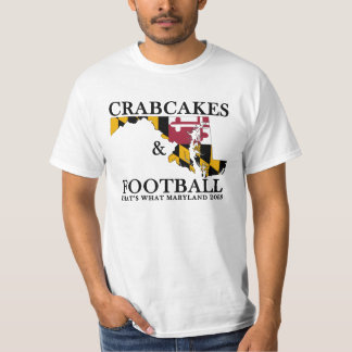 Wedding Crashers Crabcakes & Football T-Shirt