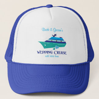 Wedding Cruise Trucker Hat