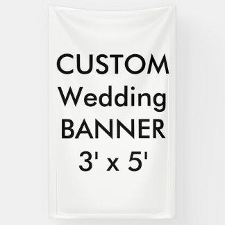 Wedding Custom Banner 3' x 5'