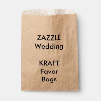 Wedding Custom KRAFT Paper Favor Bag Favour Bags