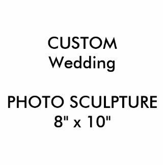 "Wedding Custom Photo Sculpture 8"" x 10"""