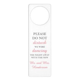 Wedding Dancing Door Hanger