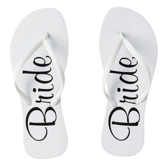 71c575d4bb89a Wedding Day Bride Flip Flops