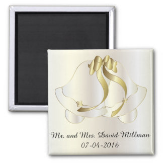 Wedding Day Bride / Groom Keepsake  Magnet